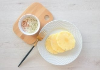yogur con canela