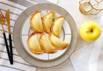 manzana con canela